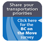 Take the survey to share your thoughts about transportation priorities
