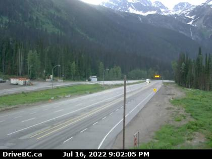 Rogers Pass Web Cam