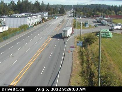 peace arch southbound lane webcam