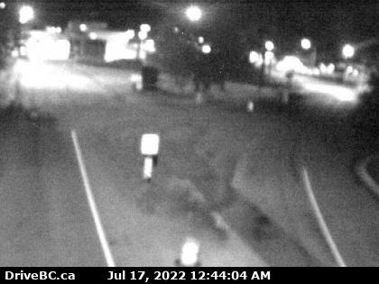 CCTV on route 11 looking south