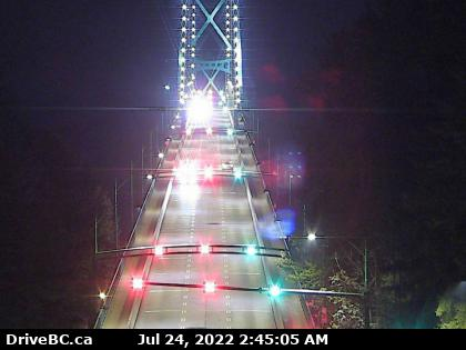 Lions Gate Bridge Traffic