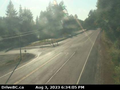 BC Highway 18 Traffic Web Cam Vancouver Island Travel