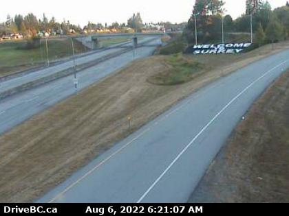 CCTV on route 99 at 8th looking north