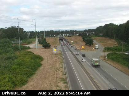 George Massey Tunnel Highway Cam Live Image