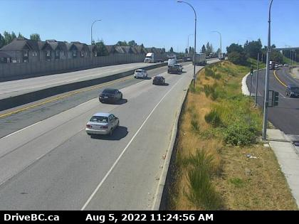 Hwy 91A at Howes St - W