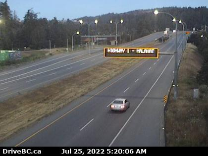 Traffic View Royal/Colwood Northbound