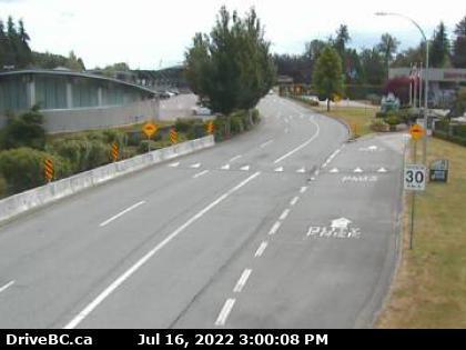 CCTV on route 99 at Beach Rd looking south
