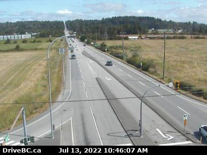 CCTV on route 15 at 8th looking north