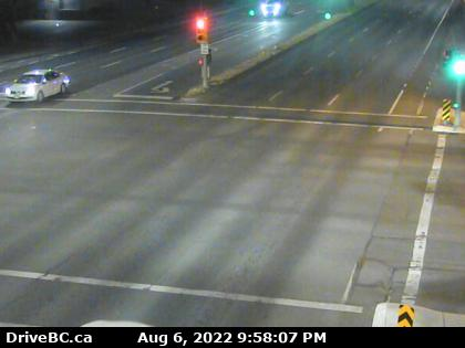 Hwy 17 at Cloverdale Ave - N