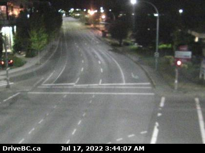 Hwy 17 at Saanich Rd 1 - S