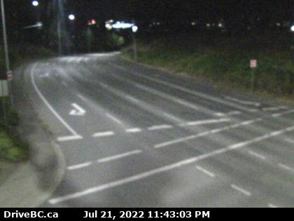 Hwy 17 at Saanich Rd 2 - S