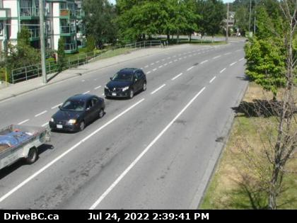 Hwy 17 at Saanich Rd 2 - E