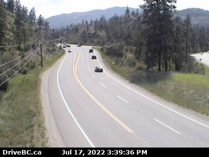 Kaleden South (Hwy 97 at Hwy 3A Junction - DriveBC