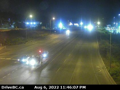 Hwy 17 at 104th Ave eastbound