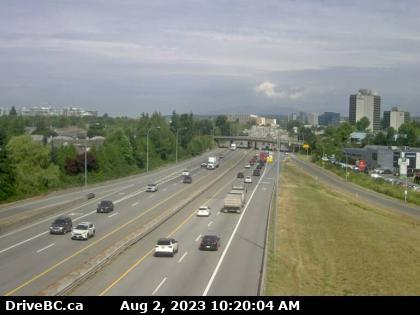 Vancouver BC Traffic - Hwy 99 BC - Richmond BC - Tsawwassen