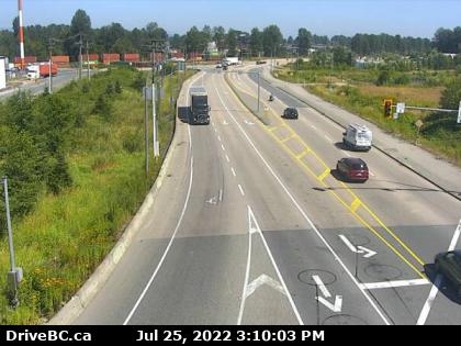 104th Ave at Hwy 17 eastbound