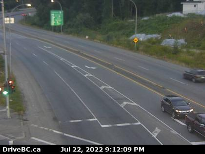 Hwy 17 at 104th Ave southbound