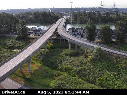 Alex Fraser Bridge Southbound
