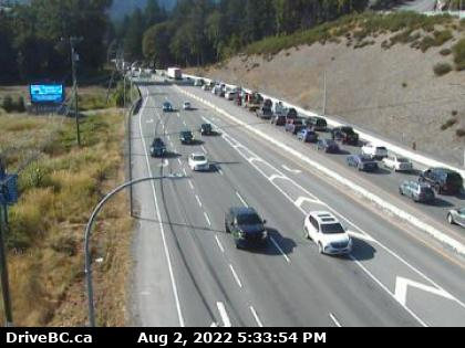 Highway 1 at West Shore Parkway looking north