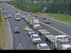 Webcam Image: Prince George northbound